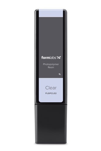 Formlabs 2 Clear Resin Cartridge 1L